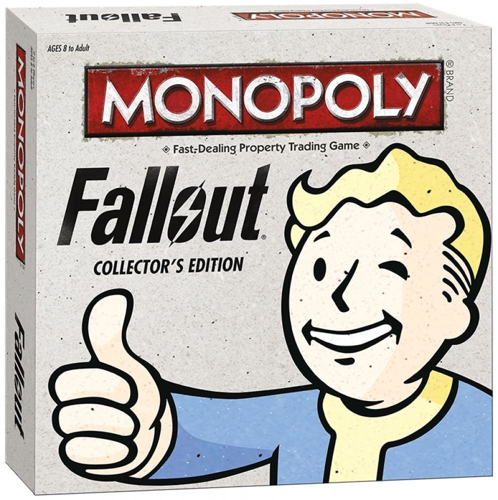 Monopoly: Collector's Fallout Collector's Monopoly: Edition - Exclusive by USAopoly f057ed