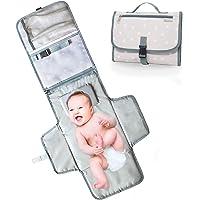 bolso Cambiador Portátil para bebé–Cambiador Plegable de viaje–2bolsillos