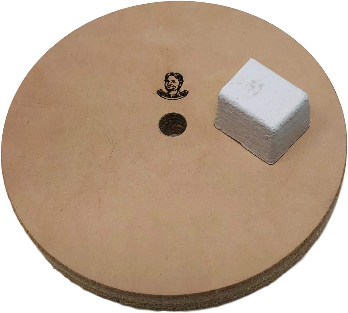 3//4 Width Buffing Compound Incl Leather Honing Wheel 6 Fits 1//2 Arbor