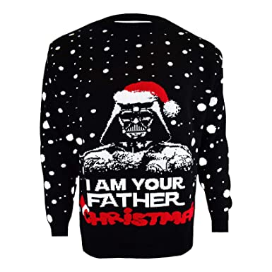 a0d978a945fa SA Fashions Season Star Wars Darth Vader Santa Ladies   Mens Novelty ...