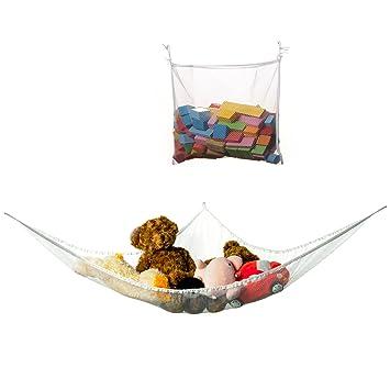 iwuhooya large size jumbo toy hammock plushed toys organizer storage   for stuffed animals   bathroom amazon    iwuhooya large size jumbo toy hammock plushed toys      rh   amazon