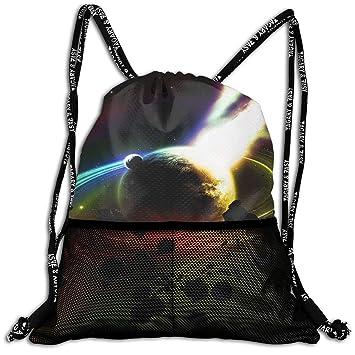 3D Print Leisure Bundle Backpack Saturn Fire Meteorites Art ...
