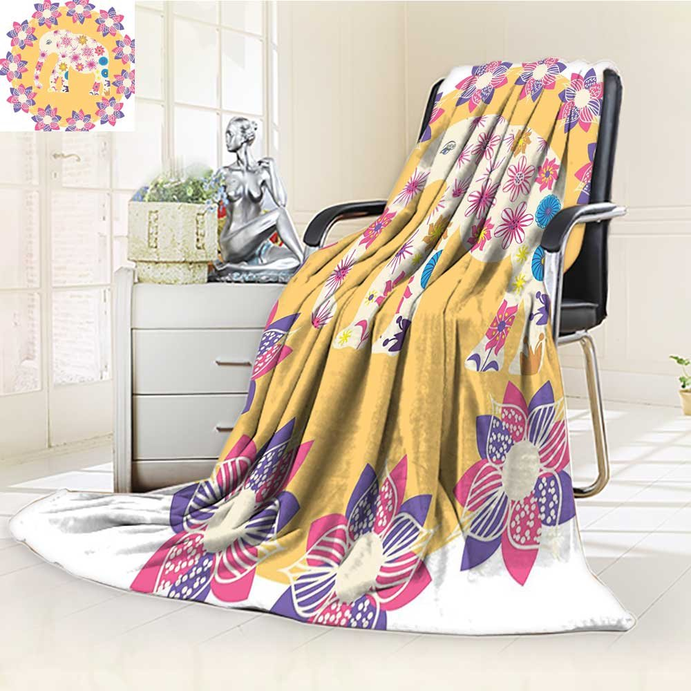 AmaPark Digital Printing Blanket Thai Baby Wildlife Prints Summer Quilt Comforter by AmaPark