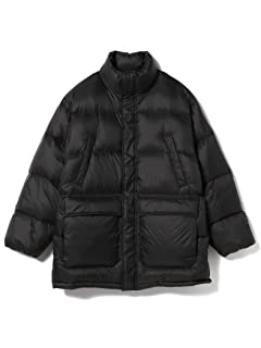 Nylon Down Jacket 11-18-4513-120: Black