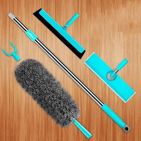 Plumero - Cepillo de Polvo Limpio y Desmontable para Limpiar el Techo Interior Red de araña Ventilador de Techo ...