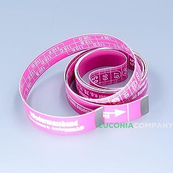 Sujetador copa cinta métrica para el pecho pecho 150 cm/60 inch Alemania, Pink