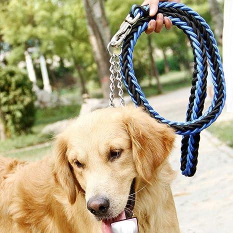 L Pet supplies Mascota Leashdog Cadena Perro Mediano Perro Correa ...
