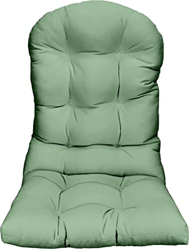 RSH D cor Indoor Outdoor Tufted Solid Adirondack Chair Cushion Seat Pads Choose Fabric Color Quantity Great