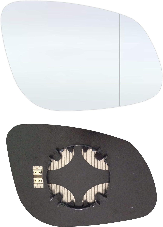 Verres de r/étroviseur droit c/ôt/é passager Asph/érique avec plaque et chauffage #AM-PECE02-RWAH
