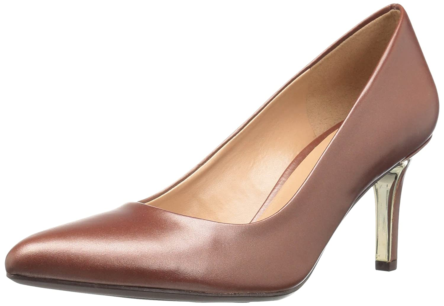 Naturalizer Womens Natalie Pointed Toe Leather Classic Pumps B01I2PHEWQ 8.5 2W US|キャラメル キャラメル 8.5 2W US