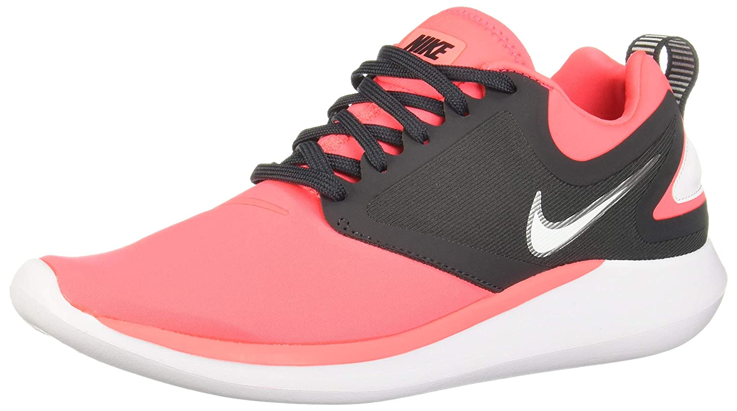 NIKE Wmns Lunarsolo, Scarpe Running Donna Multicolore Hot Punch / White Ant 604)