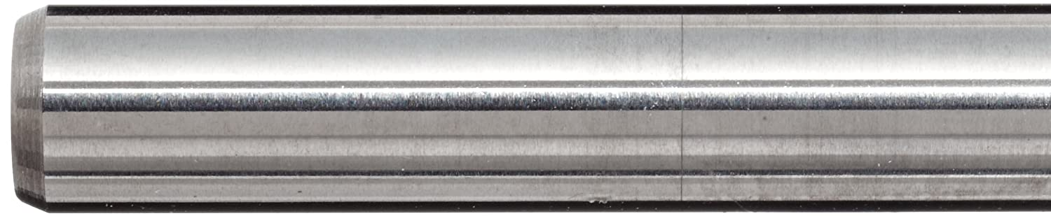 Finish Uncoated Bright Melin Tool AMG-B Carbide Micro Ball Nose End Mill 1.5000 Overall Length 0.125 Shank Diameter 2 Flutes 0.0110 Cutting Diameter 30 Deg Helix