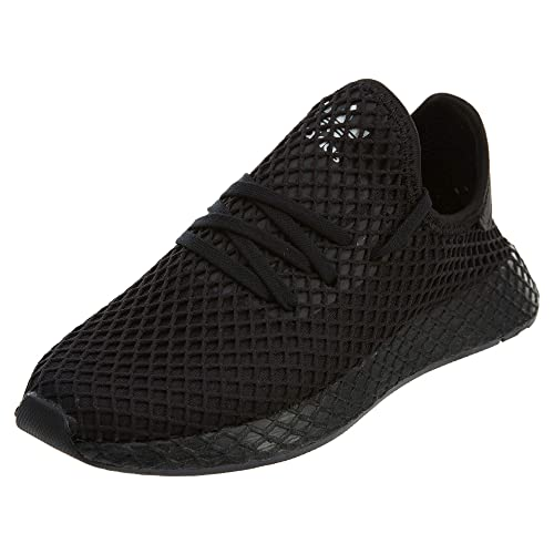 new product 18d99 d62b4 adidas Originals Deerupt Runner Shoe Junior s Casual 3.5 Black-White