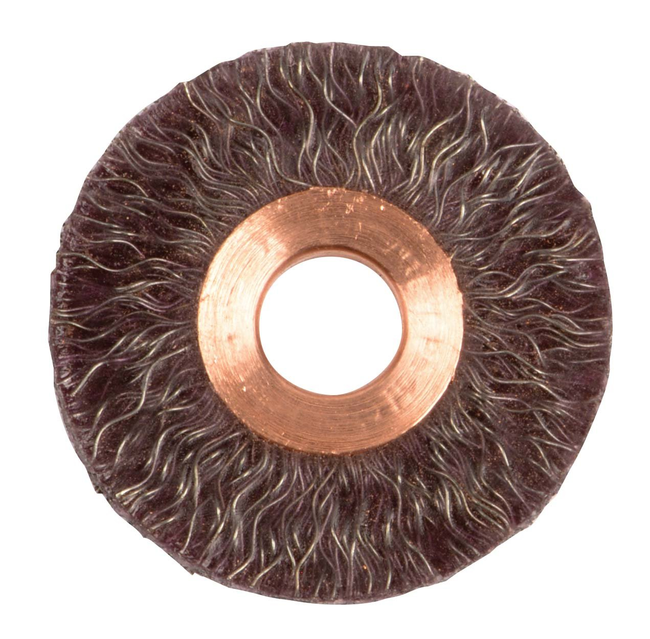 1//2 Arbor Hole 2 Small Diameter Pack of 10 0.14 Steel Fill Weiler 35070 Polyflex Encapsulated Crimped Wire Wheel