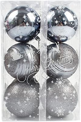 Christmas Ball Ornaments 12pcs Round Christmas Tree Xmas Balls Decorations Baubles Party Wedding Ornament