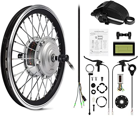 AFTERPARTZ E-29 E-Bike Kit de conversión, Unisex Adulto, Negro, 29 ...