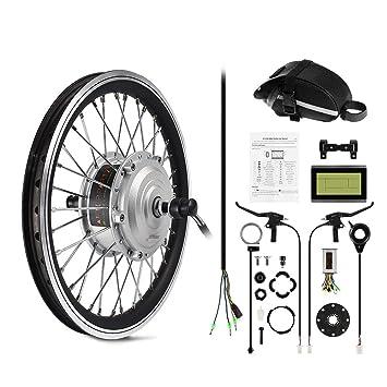 Afterpartz Elektro Fahrrad Umbausatz Vorderrad Nachrüstsatz E Bike 250w 36v 25kmh
