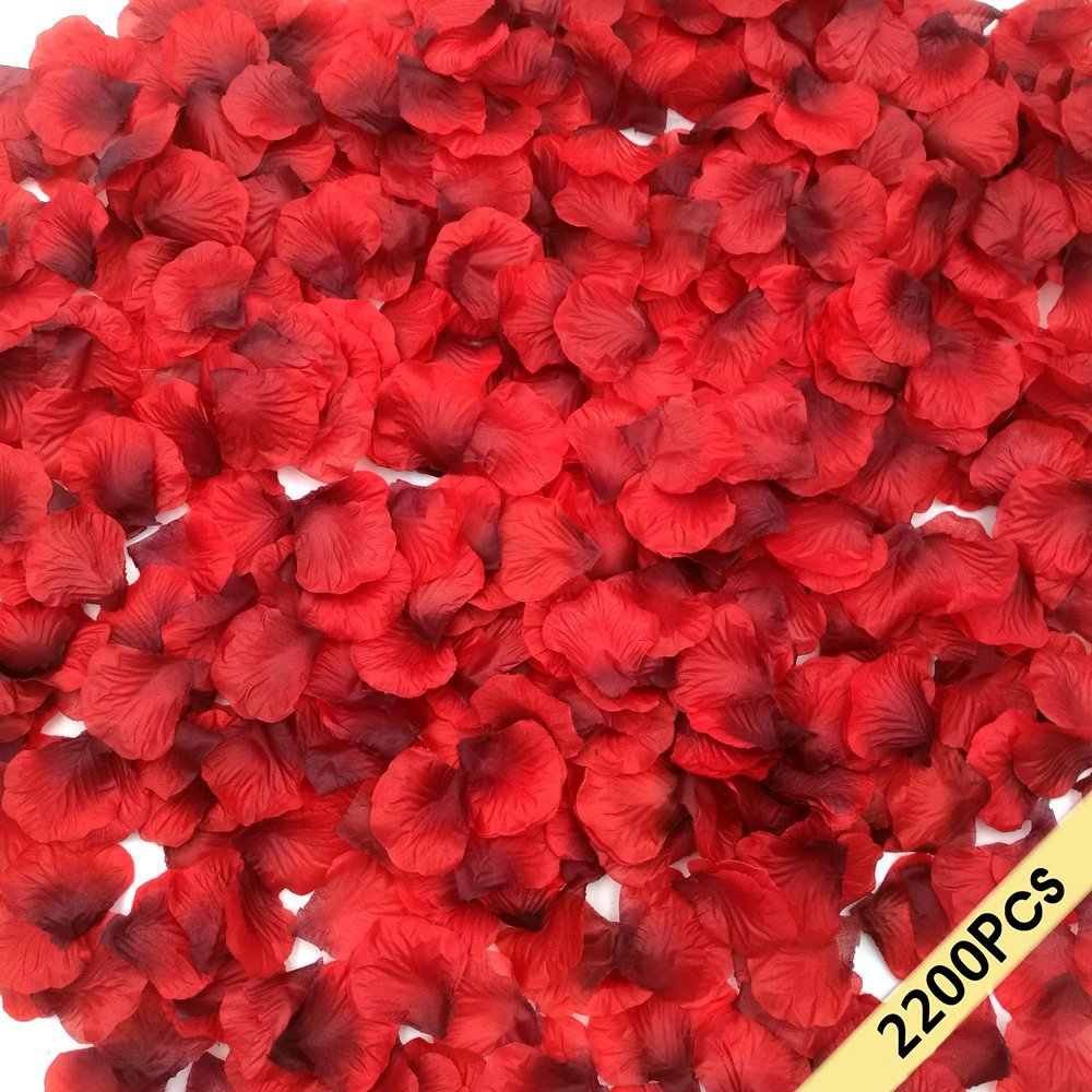 flower petals for wedding galleon smile 2200 pcs silk petals 4198