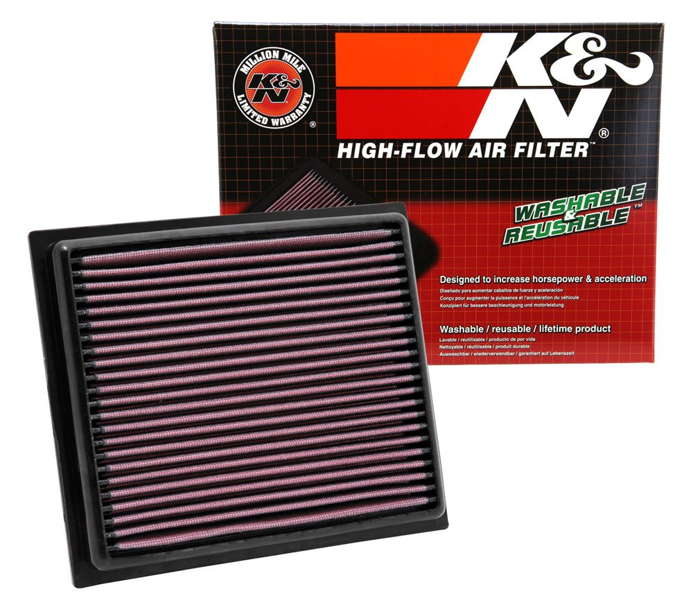 K&N 33-2435 High Performance Replacement Air Filter K&N Engineering takeoka-AUTO-0011664243-0040
