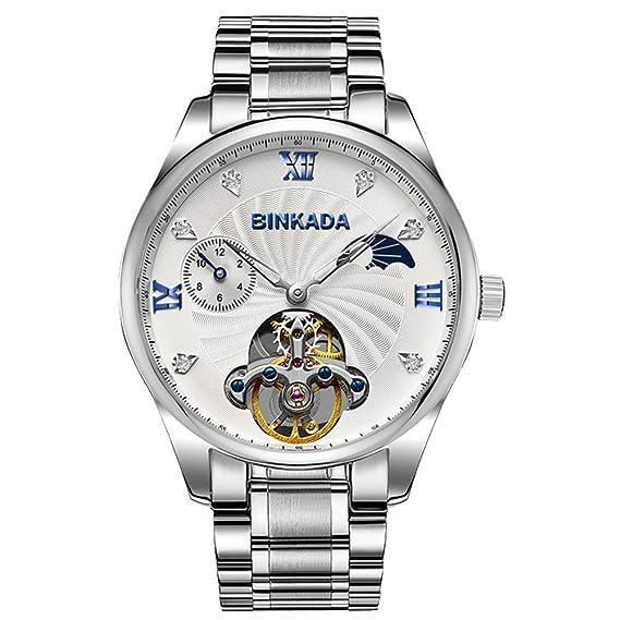 Relojes mecánicos de los Hombres/Calado Volante Relojes de Moda/Estudiantes Impermeable Reloj-