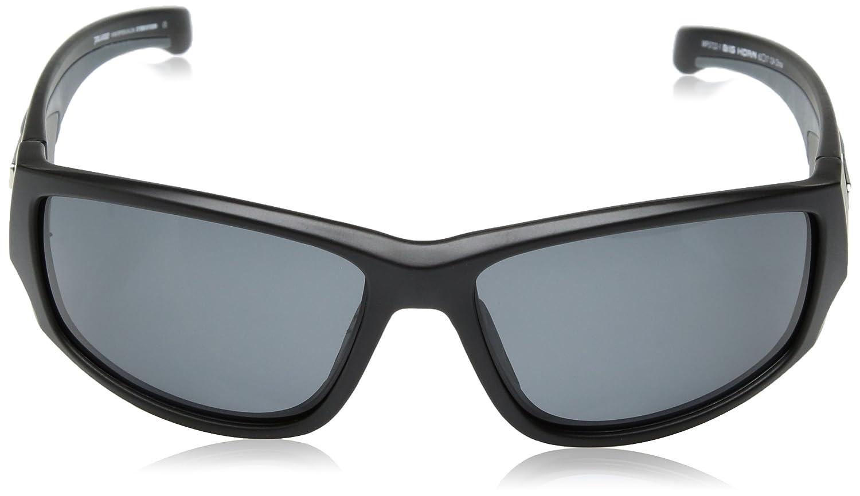 9b9497054c8 Amazon.com  Pepper s Big Horn Polarized Oval Sunglasses Matte Black 64 mm   Clothing