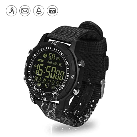 Smart Watch IP67, Hizek Waterproof Bluetooth 4.0 Relojes ...