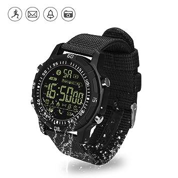 Montre Connectée Sport, Hizek Fitness Tracker dActivité Smartwatch Étanche IP67 Montre Samrt Analogue