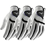 Pack of 3 - Mizuno 2016 All Weather Comp Mens Golf Gloves Left Hand (Right Handed Golfer)