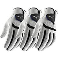 Pack of 3 - Mizuno 2018 All Weather Comp Mens Golf Gloves Left Hand (Right Handed Golfer)