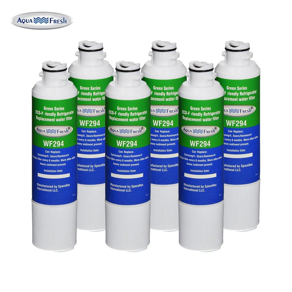 Aqua Fresh WF294 Replacement for Samsung DA29-00020B, HAF-CIN/EXP, 46-9101, WSS-2 Refrigerator Water Filter (6 Pack)