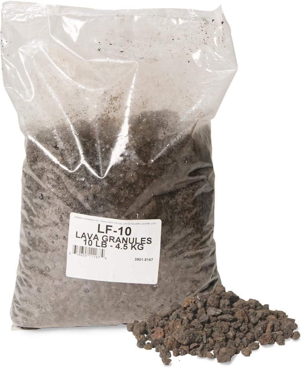 LF-10 10 pounds Real Fyre Lava-Fyre Granules RH Peterson Co