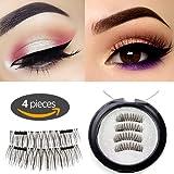 Amazon Price History for:Longer Magnetic Eyelashes [No Glue] Premium Quality False Eyelashes Set for Natural Look