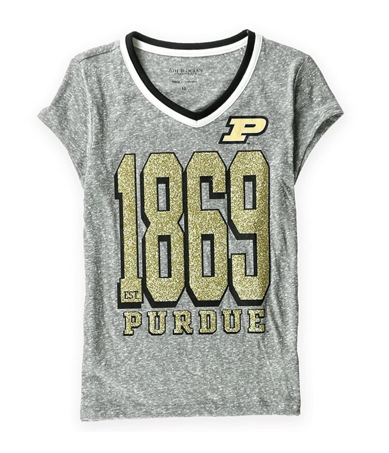 Amazon Justice Girls Purdue Boilermakers Graphic T Shirt