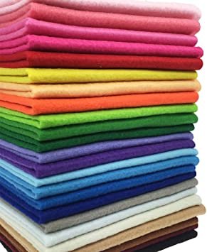 LIGHT PURPLE QUALITY 3mm Soft Craft Felt Fabric Material