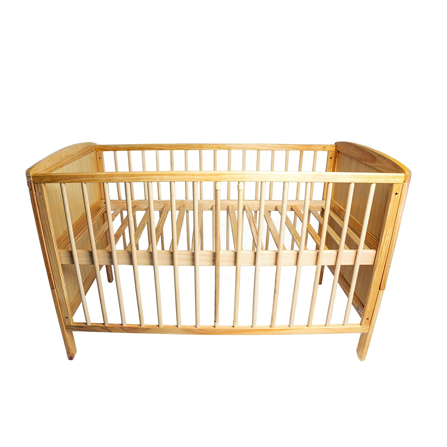 Wooden cot bed 120 x 60 cm Bambino World