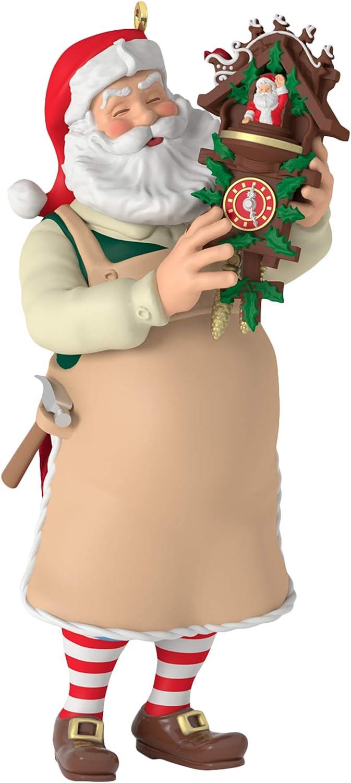 Hallmark Keepsake Christmas Ornament 2019 Year Dated Toymaker Santa
