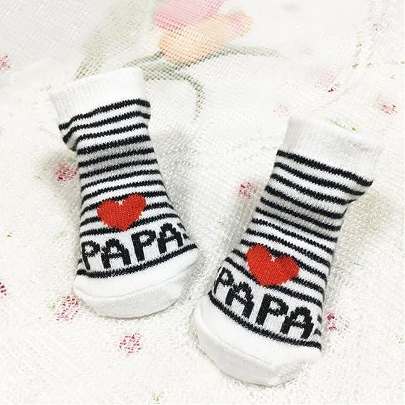 per maschio o femmina bianco I Love Dad taglia unica Calzini Gemini/® per neonati colore