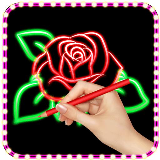 (Glow Draw Doodle Art)