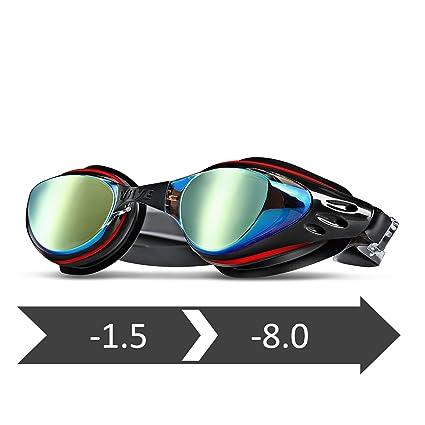 906a788f18 Amazon.com   wave Prescription Unisex Swim Goggles with Vision ...
