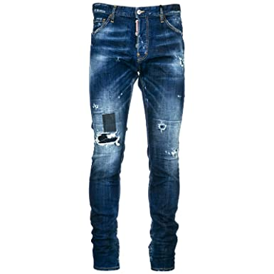 74dc79ad88957 Dsquared2 Jeans Jean Homme Cool Guy blu EU 48 (UK 32) S74LB0435S30342470