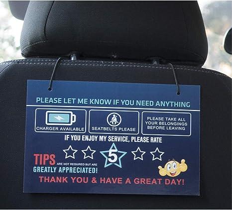 Amazon.com: Cartel de agradecimiento con señales de ...