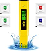 pH Tester Digital - High Accuracy pH Water Tester for Drinking