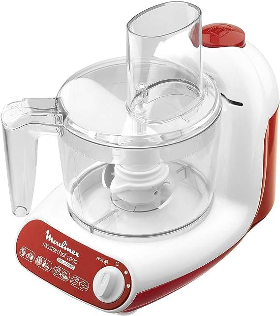 Moulinex FP2111B1 Masterchef 2000 - Procesador de alimentos: Amazon.es: Hogar