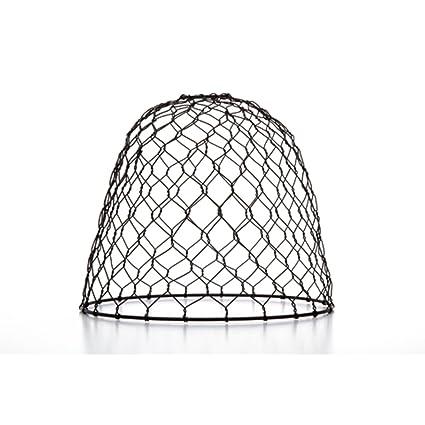 Darice 10 cleveland vintage lighting black chicken wire dome lamp darice 10quot cleveland vintage lighting black chicken wire dome lamp shade mozeypictures Image collections