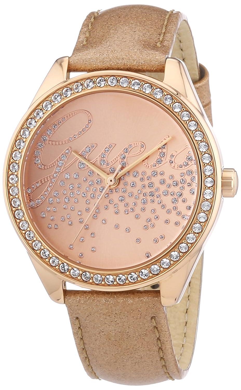 Exceptionnel Guess - W0161L1 - Montre Femme - Quartz Analogique - Bracelet Cuir  CQ36