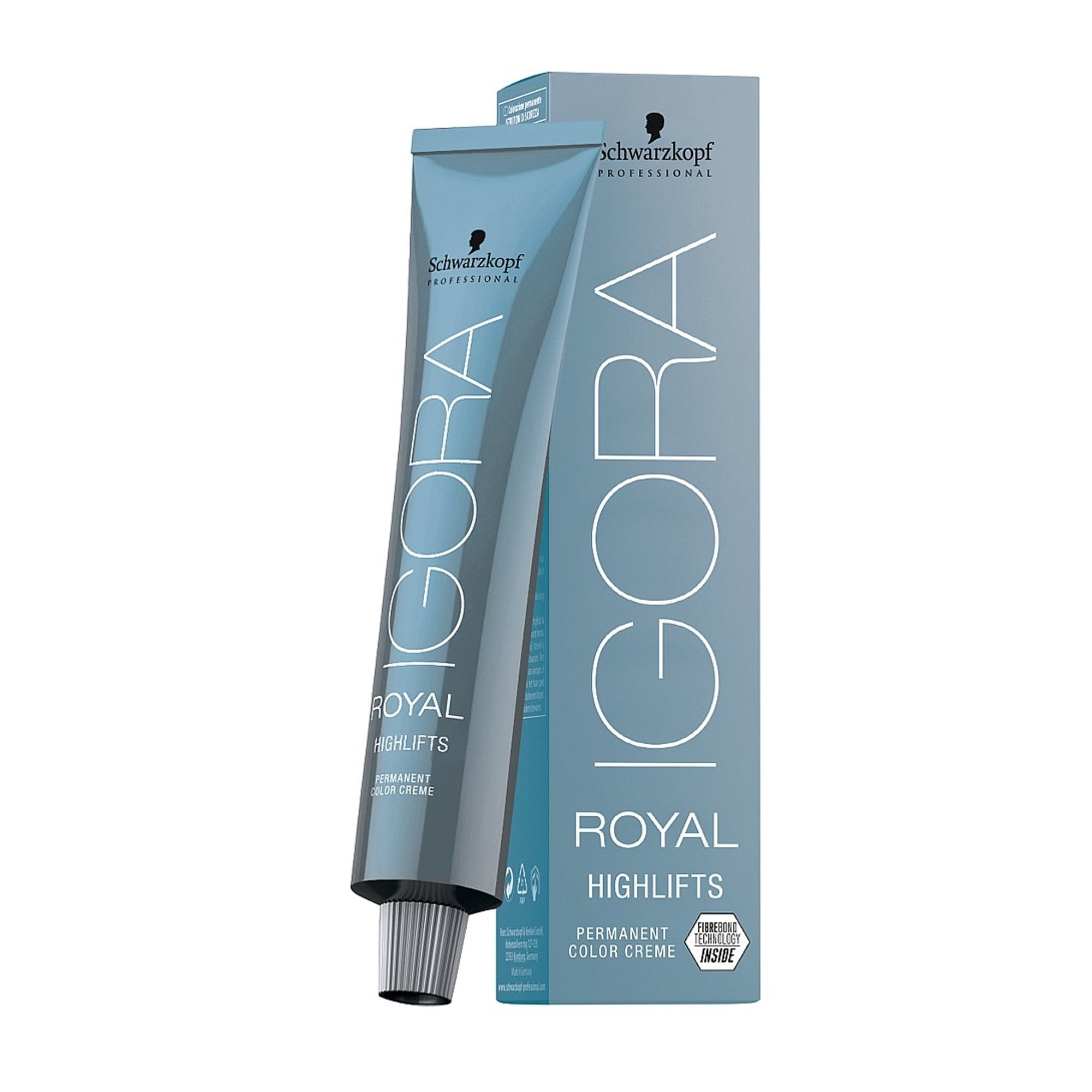 Schwarzkopf IGORA ROYAL HIGHLIFTS Permanent Color Creme (12-2 Special Blonde Ash)