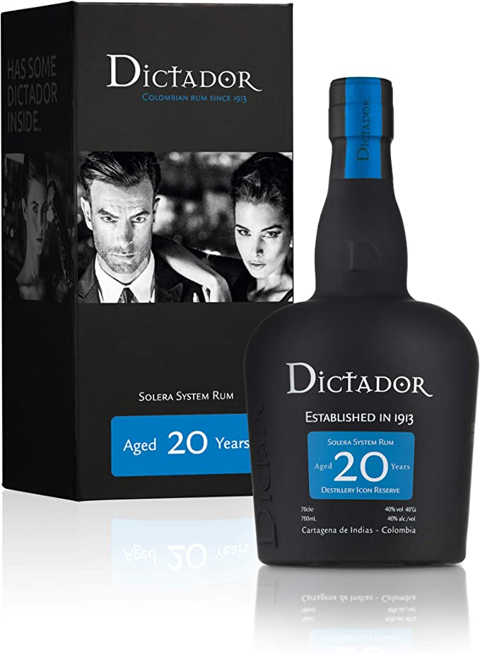 Dictador 20 Years Old Distillery Icon Reserve Rum - 700 ml