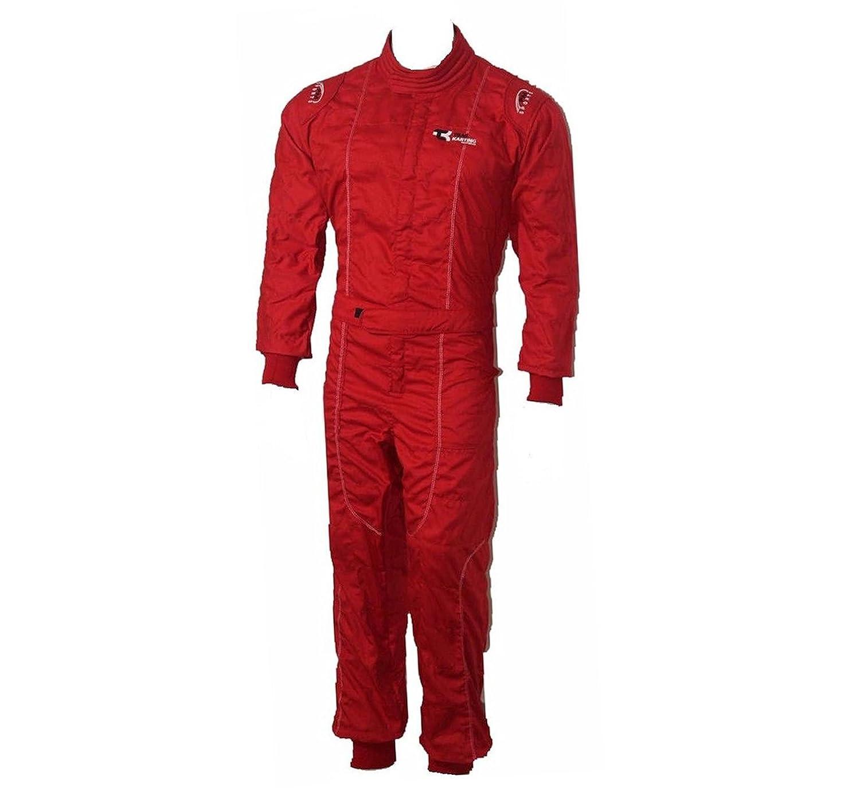 Color Rojo Traje de Carreras para ni/ños XTRM