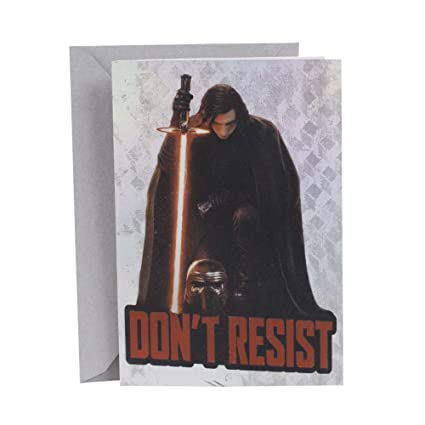 Amazon hallmark birthday greeting card star wars kylo ren hallmark birthday greeting card star wars kylo ren m4hsunfo