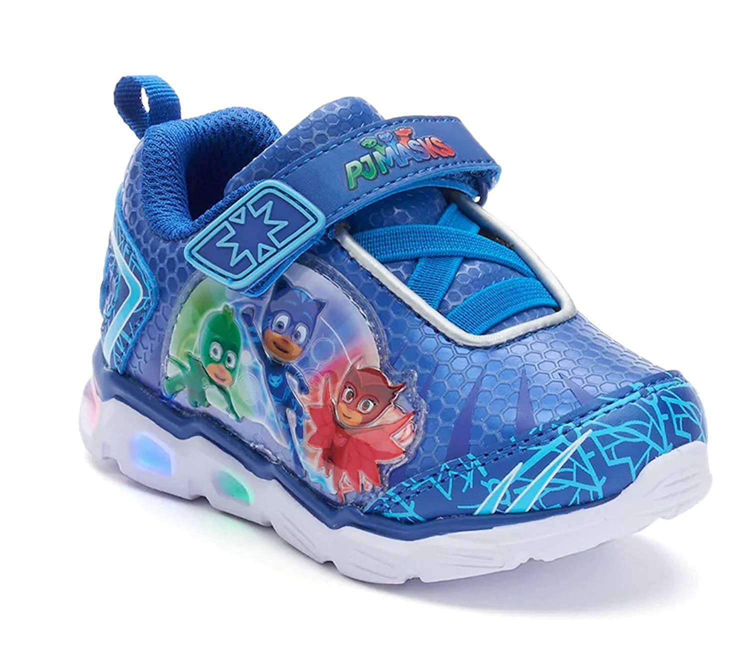 PJ Masks Boys' Toddler Character Light up Athlectic Shoes 5 Blue